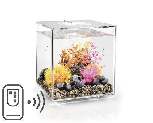 BiOrb CUBE transparentní 30l LED MCR s DO