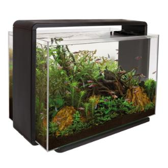 SuperFish HOME 60 AQUARIUM BLACK akvarijní set s DO