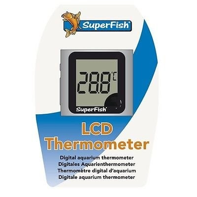 SuperFish LCD Thermometer - teploměr do akvária