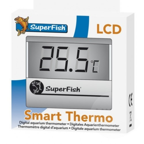 SuperFish Smart Thermo Silver - teploměr do akvária