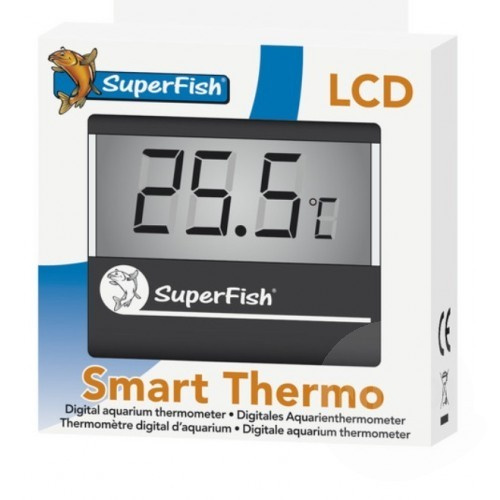 SuperFish Smart Thermo Black - teploměr do akvária
